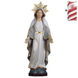 Our Lady of Miracles Modern with Aura + Gift box
