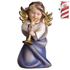 Heart Angel with trumpet + Gift box
