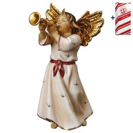 Angel with trumpet + Gift box