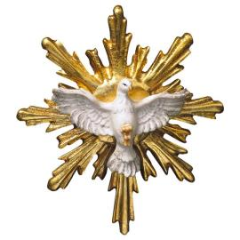 Holy Spirit with Halo round