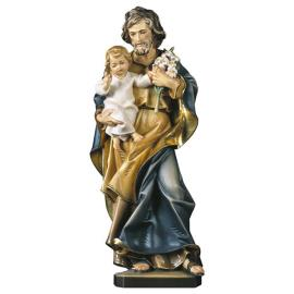 St. Joseph with child and lily