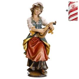Lute player + Gift box