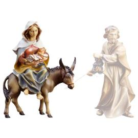 UL St. Mary on donkey with Infant Jesus & parchment