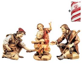 PA Herders group at the fireplace - 4 Pieces + Gift box