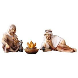 CO Group of herders at the fireplace - 3 Pieces